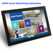 manufacture 18.5 inch mp4 Advertising publication APP player hd digital photo frames lcd screen signage