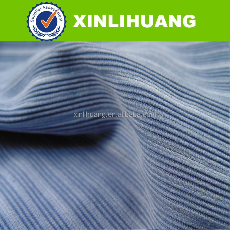 100% cotton dyed wide wale corduroy fabric 14w heavy durable smooth corduroy