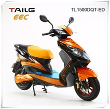 1500w 60v lead-acid battery pack electric scooter cheap mini electric motorbike for sale eec TL1500DQT-ED