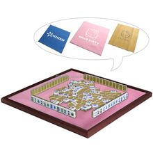 branded table mat for mahjong playing, not for sale just for show