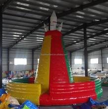 Top seller inflatable climbing wall for children and adult