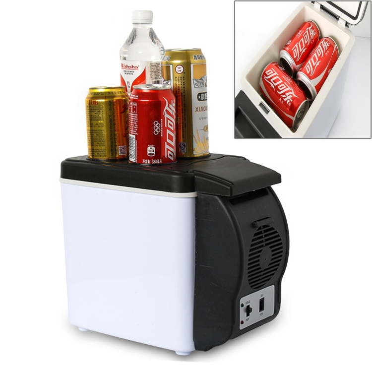 Wholesale drop shipping 48W Portable Multi-Function Cooling and Warming 6L Low Noise car auto <strong>Refrigerator</strong> for Car and Home