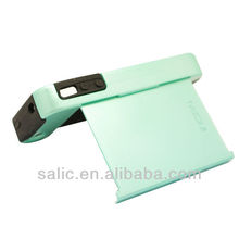 with stand plastic mass production case for iphone 4