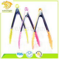 Colorful Premium Hot Sell Silicone Food Tong