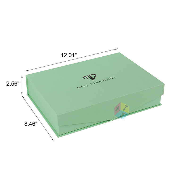 custom rigid print packaging gift box foam insert