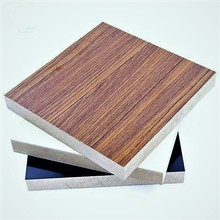 MDF core board covered wood grain door skin