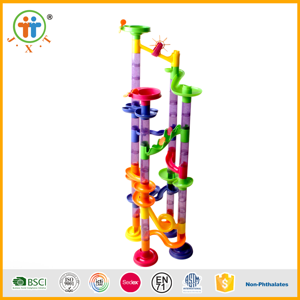Newest 80pcs education kid marble maze blocks building toy for sale