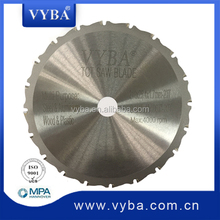 multi-purpose TCT saw blade for steel & aluminum & wood & plasctic cutting
