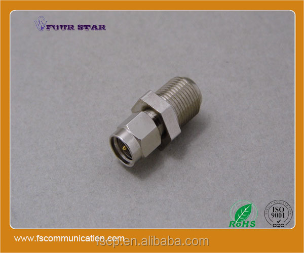 RF Coaxial SMA Male to F Female Connector Adaptor Converter