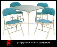 Blue MDF lifestyle wooden classic dining room sets