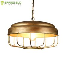 Zhongshan Guzhen supplier retro style bronze decorative pendant light fixtures ceiling hanging lamp