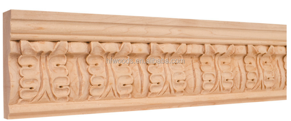 Scranton Carved Wood crown molding /Deco Carved skirting for wooden villa
