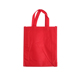 Shopping Custom Printed Recyclable Red Cheap Non Woven Bag