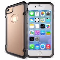 Premium Hard PC Back Case Flexible Soft TPU Case for Apple iPhone 7