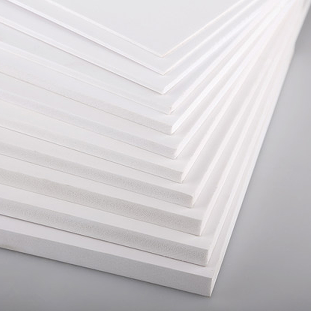 High Density Advertising PVC Sheet 4x8 Forex Foam Board Rigid Packaging Foam Board