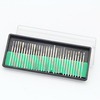30 PCS 3.0mm Assorted Diamond Burrs Diamond Mounted Points Set