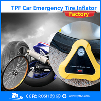 TPF mini portable configuration mini air compressor 12v for car tires
