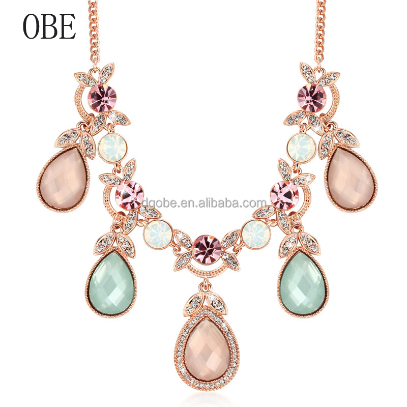 OBE JEWELRY New arrival hot sale antique artficial fancy jewellery