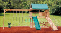 Wooden playsets,wood playground equipment,wooden outdoor playground