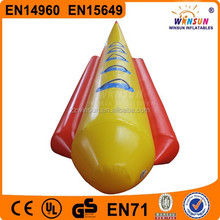 Summer cool water toys Water Sports inflatable Banana boat for sale