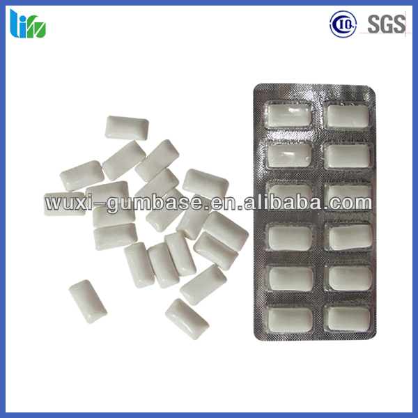 Hot selling chewy candy sugarless trick chewing gum