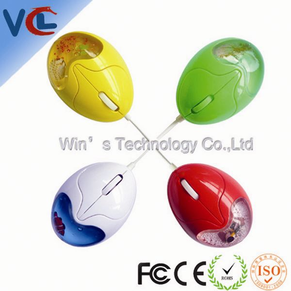 VMA-07 Liquid Wired Mouse_ Patent Egg Shaped Mouse