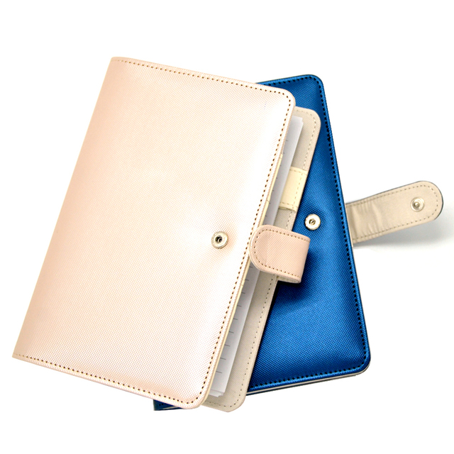 Wholesale Popular Leather A5 Notebook with Calculator, Agenda Organizer with calculator Photo Frame