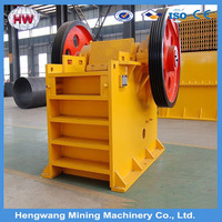 2016 hengwang Jaw crusher 150-350 t/h mobile stone crusher plant machine price in india
