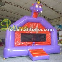 Animal shape trampolines inflatable
