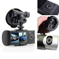 2.7 Inch dual lens car camera with gps R300 / X3000