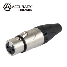 Professional Female XLR 3 Pin Connector XLR197