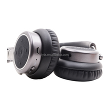 Stereo Wireless Headphones with Microphone On-ear Foldable Bluetooth Headset