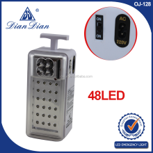 2015 New style high quality made in zhejiang emergency light with fm radio