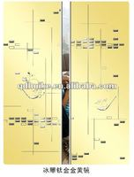 home decorative mirror/glass sliding door/TJ/CJ/BD-art life