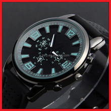 R20 simple style big dial watch product description, silicone strap fashion style bracelet wrist watch