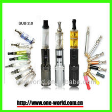 Super Quality GS SUB 2.0 electronic cigarette with LED screen showing battery power and voltage