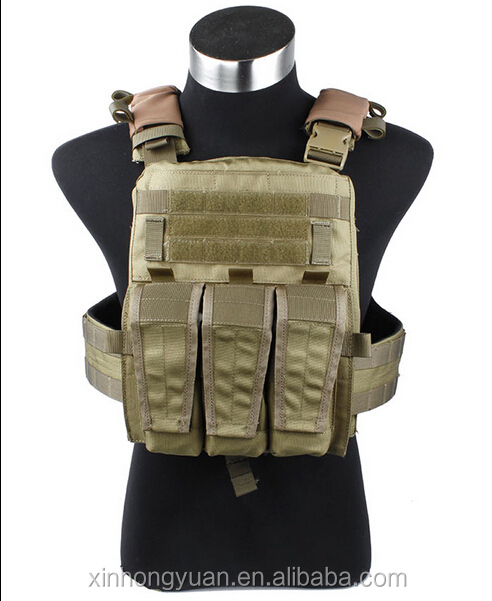 khaki military tactical combat bulletproof vests