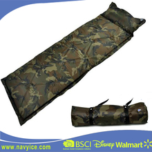 Camouflage Outdoor Camping Sleeping Self Inflating Mattress with Pillow Outdoor Military Self-Inflating Camping Mats