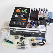 top quality professional 4 guns tattoo kit
