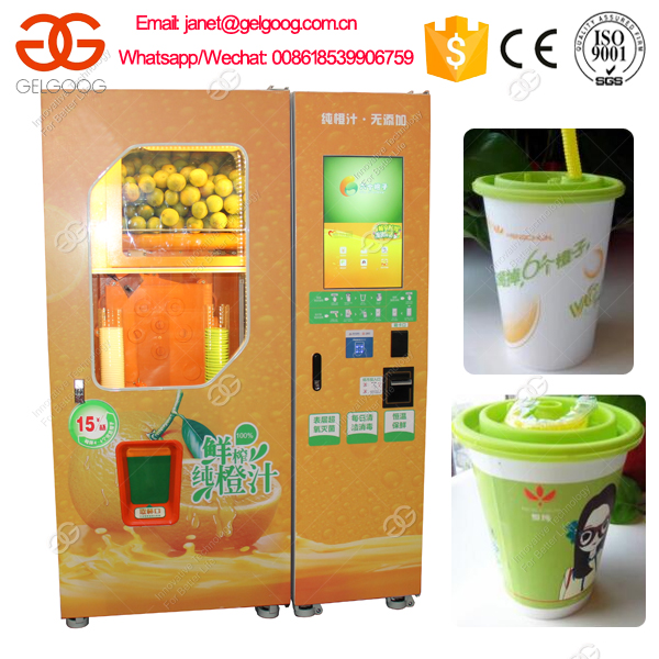 Hot Sale Automatic Fresh Orange Juice Vending Machine GG-2300