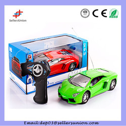 1:18 painted two-way remote radio control simulation lamborghin car