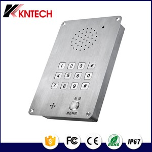 Kntech Emergency Telephone Analog Telephone KNZD-15 Stainless Steel Telephone