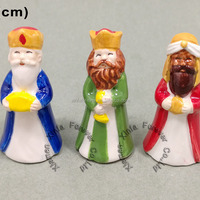 Miniature Religious Porcelain Ceramic Figurine For