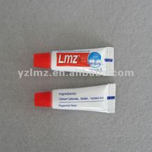 Disposable toothbrush with brand hotel small toothpaste