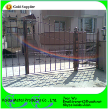 Galvanized Coated Iron Entrance Gate Model