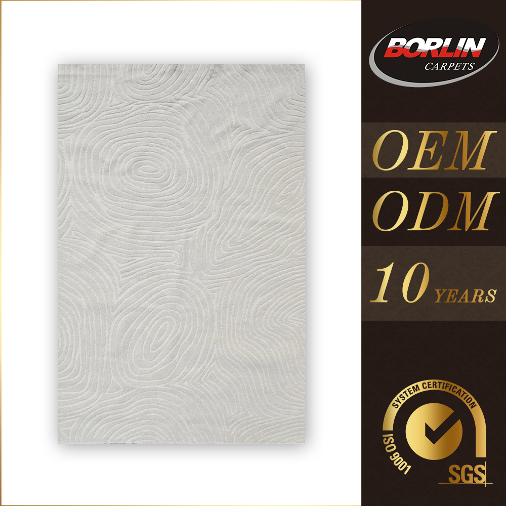 Made In China And Silk Blend 100%Wool Rug Wool