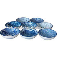 Wholesale Of Blue Printing Japanese Style Ceramic Bowl