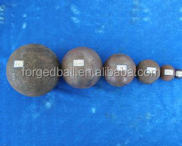 20mm 30mm 40mm forged steel ball for mine industry
