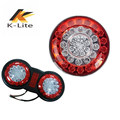 Trailer Round truck LED light bus LED tail light