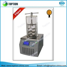 TOPT-10B top-press Gland type Vacuum Lyophilizer with LCD dispaly